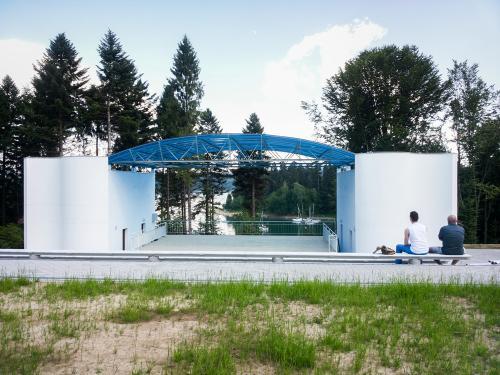 Amfiteatr nad Jeziorem Solińskim