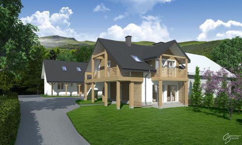 Dom mieszkalny w Wetlinie