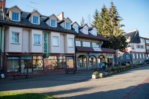 Zabudowa centrum Leska