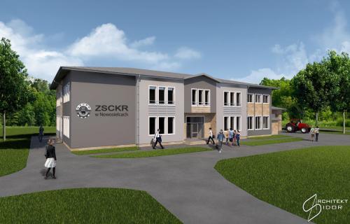 Budynek dydaktyczny ZSCKR w Nowosielcach